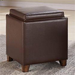 Armen Living Rainbow Storage Ottoman