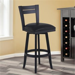 Bristol Stool in Black and Black