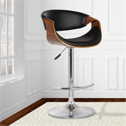 Butterfly Adjustable Swivel Bar Stool