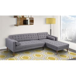 Element Sectional in Dark Gray