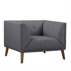 Hudson Button-Tufted Chair