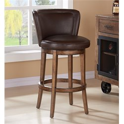 Lisbon Stool in Chestnut and Kahlua