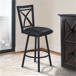 Nova Stool in Ford Black and Black