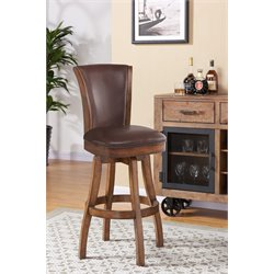 Raleigh Stool in Chestnut and Kahlua