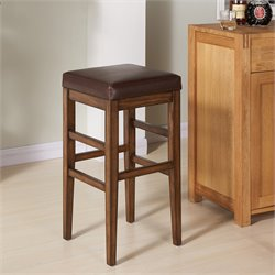 Sonata Stool in Chestnut and Kahlua