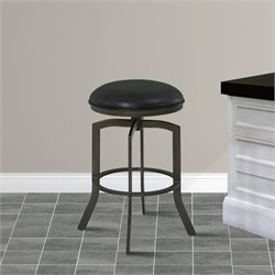 Studio Stool in Ford Black and Mineral