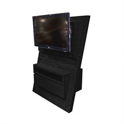 Armen Living Aspen TV Stand in Espresso