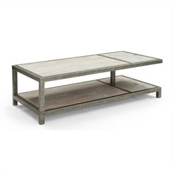 Armen Living Maxton Coffee Table in Natural