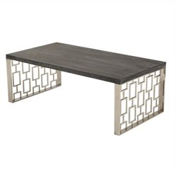 Armen Living Skyline Coffee Table