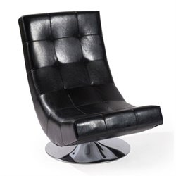 Mario Swivel Bonded Leather Chair