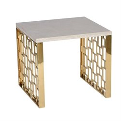 Armen Living Skyline End Table