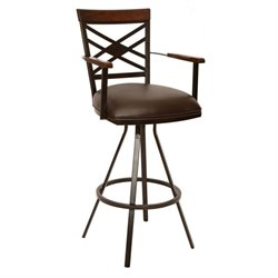 Zoe Transitional Arm Bar Stool