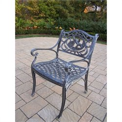 Oakland Living Hummingbird Cast Aluminium Arm Chair