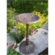 Oakland Living American Eagle Bird Bath in Antique Bronze