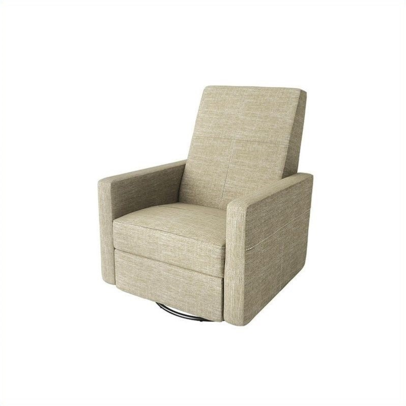 Dutailier Minho Glider Recline And Swivel With Footrest In