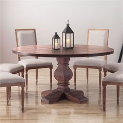 ZUO Hastings Dining Table in Distressed Fir
