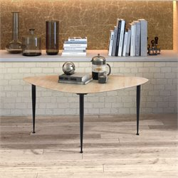 ZUO Barber Coffee Table in Distressed Natural