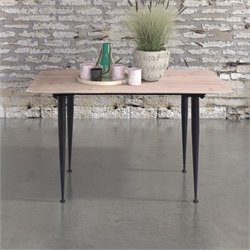 ZUO More Coffee Table in Distressed Natural