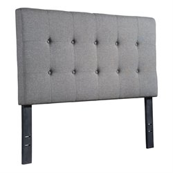 ZUO Modernity Upholstered Full Headboard in Gray