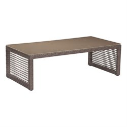 ZUO Coronado Patio Coffee Table in Cocoa