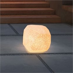 ZUO Fame Illuminated Stool in White