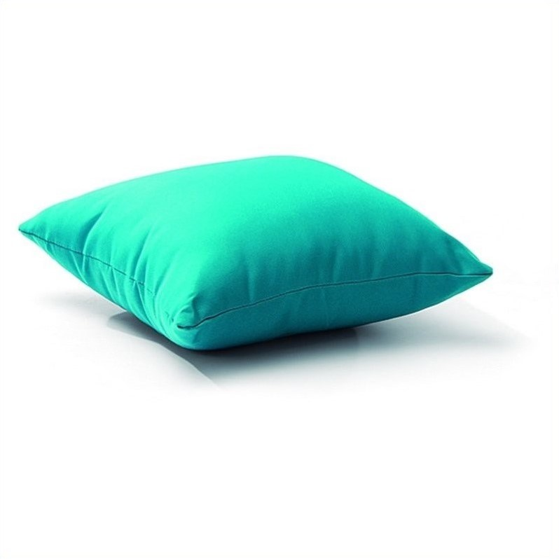 Zuo Laguna Outdoor Pillow in Sky Blue