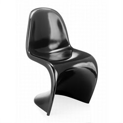 Zuo S Dining Chair in Black