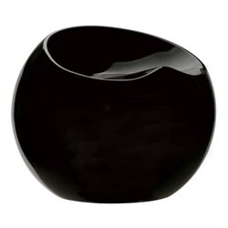 Zuo Drop Stool in Black