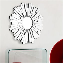 Zuo Burst Mirror in Clear