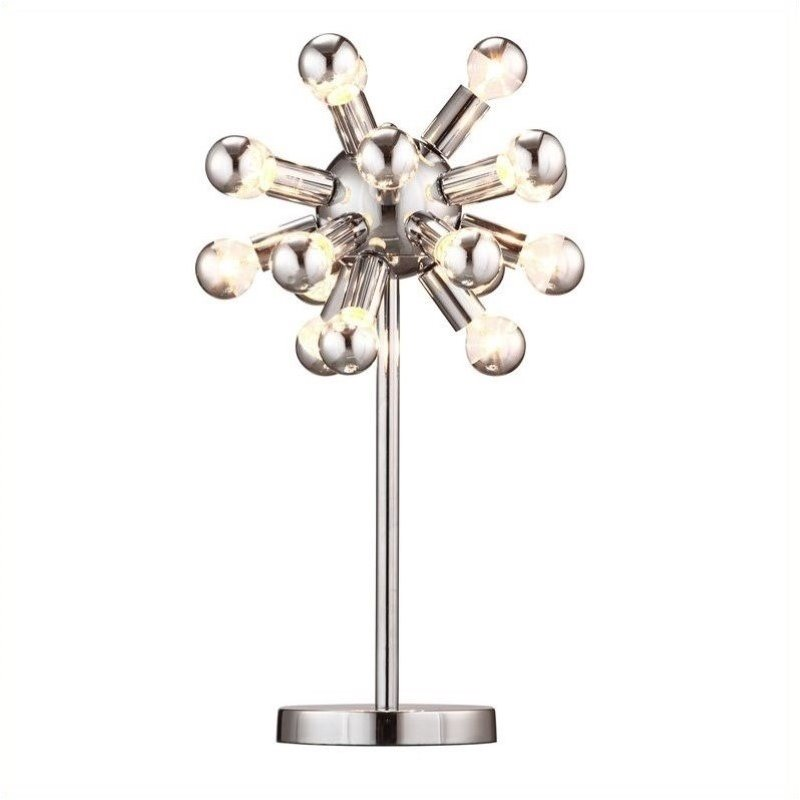 Zuo Pulsar Table Lamp in Chrome