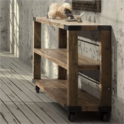 Zuo Fort Mason Shelf Distressed Natural