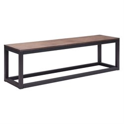 Zuo Civic Center Bench Distressed Natural