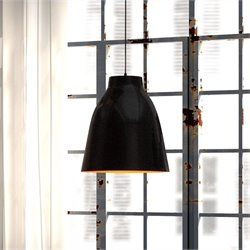 Zuo Bronze Ceiling Lamp in Matte Black