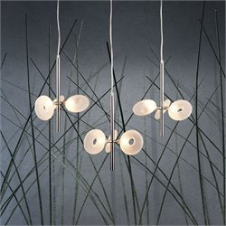 Zuo Twinkler Ceiling Lamp in Chrome