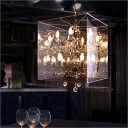 Zuo Centurion Ceiling Lamp in Translucent