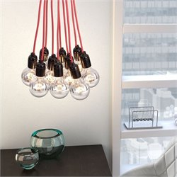 Zuo Nimbus Ceiling Lamp in Chrome
