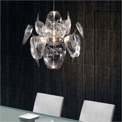 Zuo Gamma Ceiling Lamp in Translucent