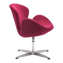 Zuo Pori Egg Chair in Red