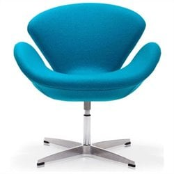 Zuo Pori Armchair in Island Blue