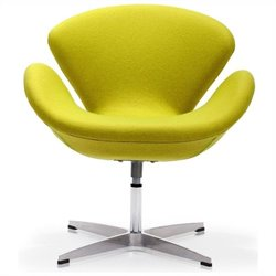Zuo Pori Egg Chair in Green