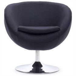 Zuo Lund Egg Chair in Grey