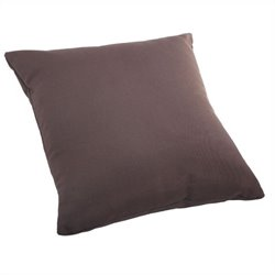 Zuo Laguna Large Pillow in Espresso