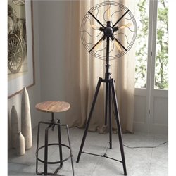 Zuo Samsonyte Floor Lamp in Rust Black