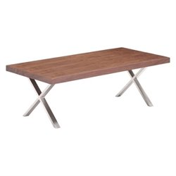 Zuo Renmen Coffee Table in Walnut