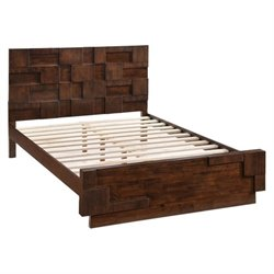 Zuo San Diego  Panel Bed in Walnut