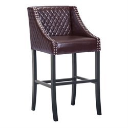 Zuo Santa Ana Bar Stool