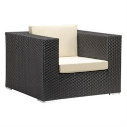 Zuo Cartagena Outdoor Armchair in Espresso