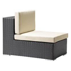Zuo Cartagena Outdoor Middle Chair in Espresso