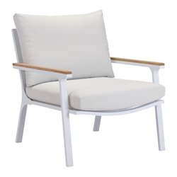 Zuo Maya Beach Outdoor Arm Chair