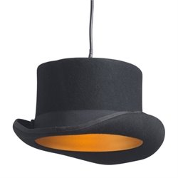 Zuo Aspiration Ceiling Lamp in Black